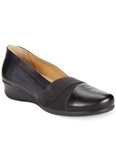 Ecco Women's Abelone Elastic Slip On Flats Women's Shoes