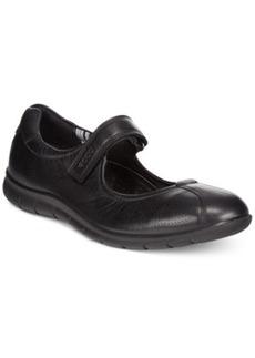 Ecco Women's Babett Mary Jane Flats Women's Shoes