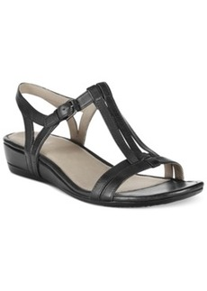 Ecco Women's Touch 25S T-Strap Wedge Sandals Women's Shoes