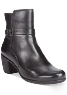 Ecco Women's Touch 55 Ankle Strap Booties Women's Shoes
