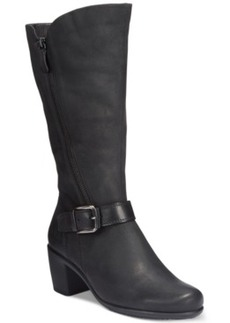 Ecco Women's Touch 55 Tall Buckle Boots Women's Shoes