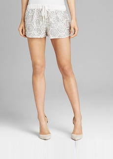 GUESS Shorts - Tile Pattern Sequin