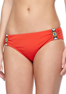 Nanette Lepore Beach House Beaded Swim Bottom