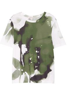 Jason Wu Printed cotton-blend jersey T-shirt