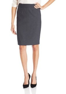 Calvin Klein Women's Straight-Fit Suit Skirt