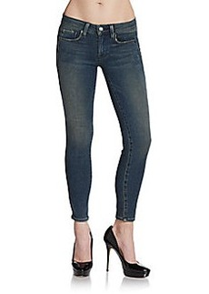 Genetic Denim Ava Split-Seam Cropped Cigarette Jeans