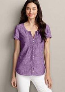 "<img class=""prd-image"" src=""//eddiebauer.scene7.com/is/image/EddieBauer/0082592_417M1?%24category%24"" alt=""Short-Sleeve Linen Blend Pintuck Shirt "" title=""Short-Sleeve Linen Blend Pintuck Shirt "">"