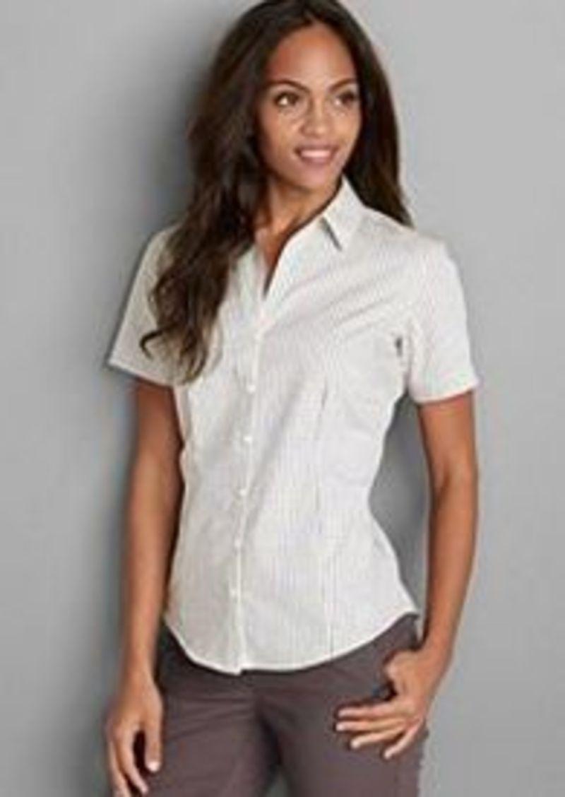 Eddie Bauer Women 39 S Wrinkle Free Short Sleeve Shirt