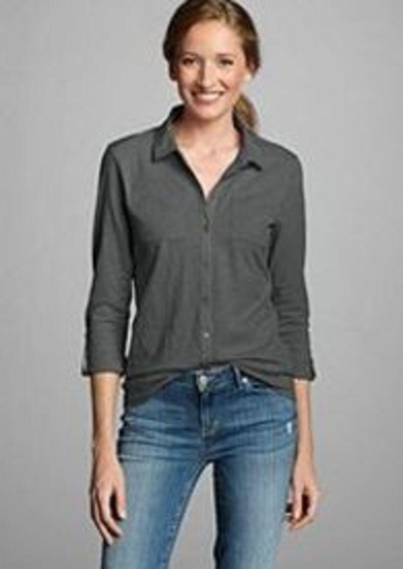 Eddie Bauer Women 39 S Essential Slub Button Down Shirt