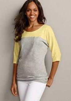 "<img class=""prd-image"" src=""//eddiebauer.scene7.com/is/image/EddieBauer/0096825_968M1?%24category%24"" alt=""On the Go 3/4-Sleeve Colorblock T-Shirt"" title=""On the Go 3/4-Sleeve Colorblock T-Shirt"">"