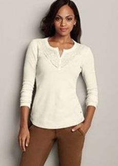 "<img class=""prd-image"" src=""//eddiebauer.scene7.com/is/image/EddieBauer/0098774_529M1?%24category%24"" alt=""Stine's Favorite Waffle Henley - Lace"" title=""Stine's Favorite Waffle Henley - Lace"">"