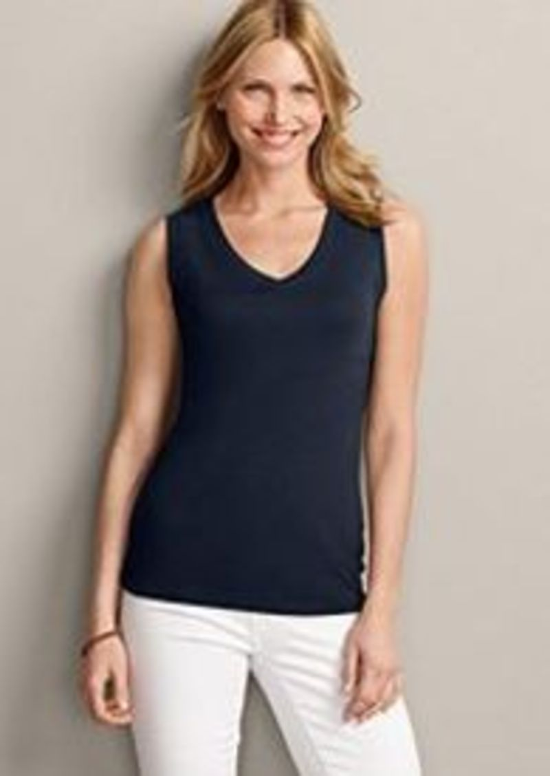 Eddie Bauer Women 39 S Favorite Sleeveless V Neck T Shirt