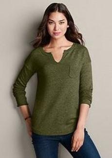 "<img class=""prd-image"" src=""//eddiebauer.scene7.com/is/image/EddieBauer/0106746_608M1?%24category%24"" alt=""Notch Neck Sweatshirt Sweater - Solid"" title=""Notch Neck Sweatshirt Sweater - Solid"">"