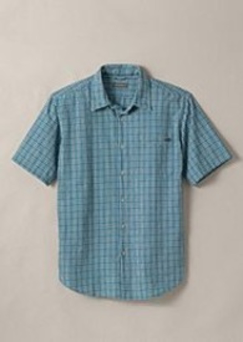 Eddie bauer men 39 s classic fit short sleeve seersucker for Mens short sleeve seersucker shirts