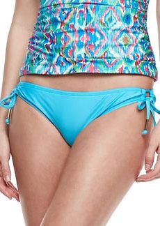 Ella Moss Swim Tie-Side Swim Bottom, Azure