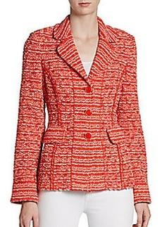 St. John Sloane Street Tweed Jacket