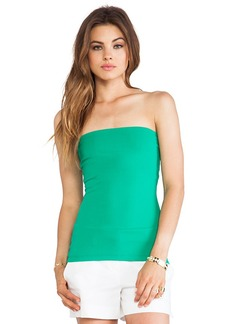 "Susana Monaco 9"" Tube Top in Green"
