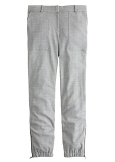 Tailored sweatpant in wool