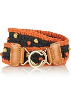 M Missoni Knitted belt
