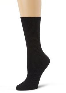 HUE Women's Classic Rib Sock