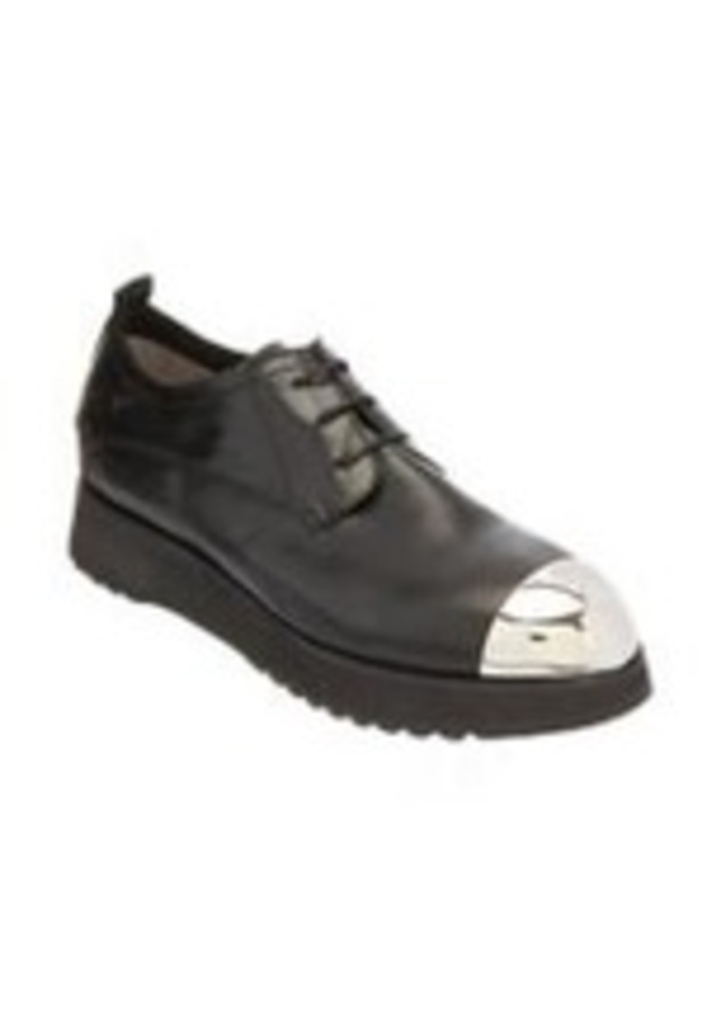 Costume National Cap-Toe Oxford Wedge