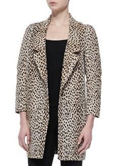Diane von Furstenberg Britta Animal-Print Jacket