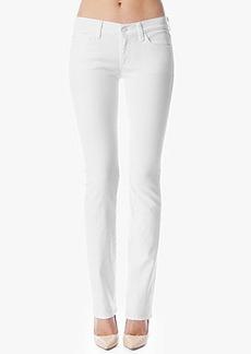Classic Straight Leg in Clean White