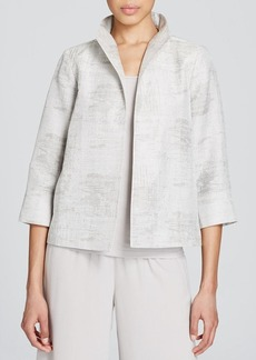 Eileen Fisher Abstract Print Jacket