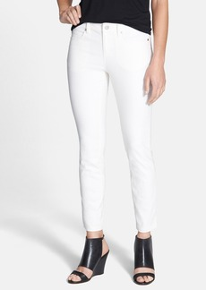 Eileen Fisher Ankle Skinny Jeans (Soft White) (Petite)