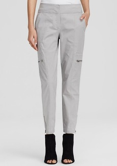 Eileen Fisher Ankle Zip Cargo Pants