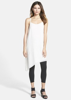 Eileen Fisher Asymmetrical V-Neck Silk Tunic