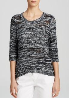 Eileen Fisher Ballet Neck Box Sweater