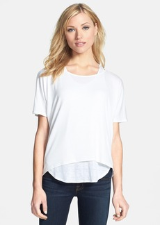 Eileen Fisher Ballet Neck Boxy Knit Top