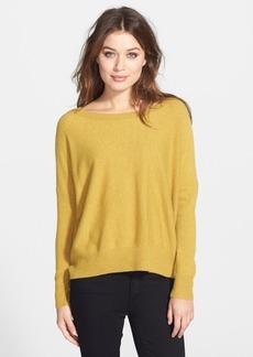 Eileen Fisher Ballet Neck Cashmere Sweater (Regular & Petite)