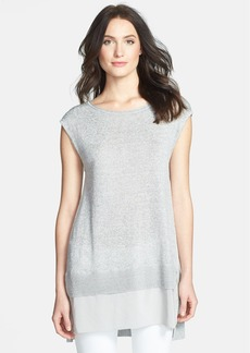 Eileen Fisher Ballet Neck High/Low Tunic