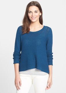 Eileen Fisher Ballet Neck Sweater (Regular & Petite)