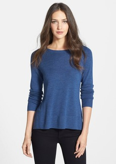 Eileen Fisher Bateau Neck Lightweight Merino Sweater (Regular & Petite)