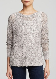 Eileen Fisher Boat Neck Boxy Sweater