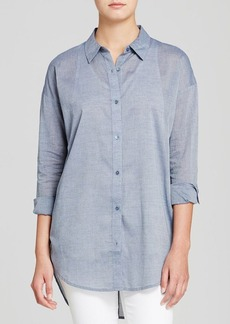 Eileen Fisher Button Back Shirt