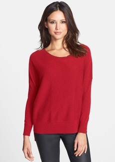 Eileen Fisher Cashmere Ballet Neck Top (Petite)