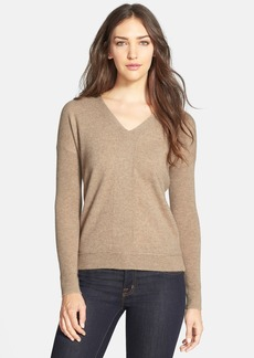 Eileen Fisher Cashmere V-Neck Sweater (Regular & Petite) (Online Only)