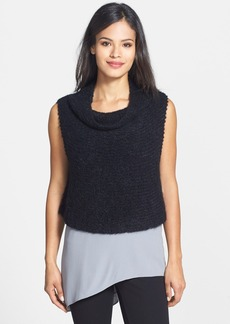Eileen Fisher 'Chainette' Mohair Blend Crop Top
