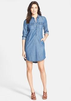 Eileen Fisher Classic Collar Chambray Shirtdress