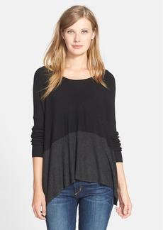 Eileen Fisher Colorblock Sweater (Regular & Petite)