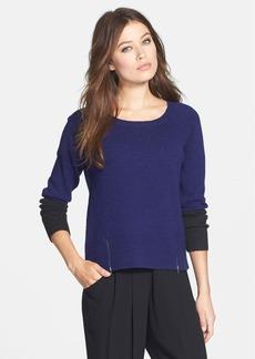 Eileen Fisher Colorblock Yak & Merino Sweater (Regular & Petite)