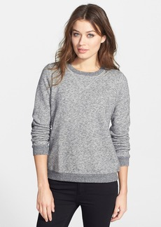 Eileen Fisher The Fisher Project Cozy Cotton Blend Crewneck Top
