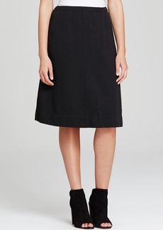 Eileen Fisher Crinkled Cotton Skirt