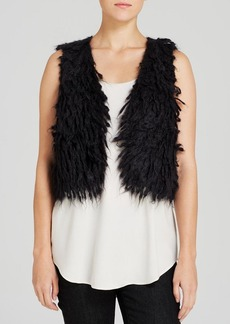 Eileen Fisher Cropped Mohair Vest