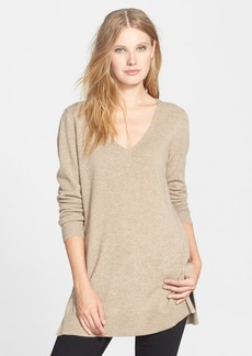 Eileen Fisher Deep V-Neck Cashmere Tunic