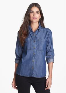 Eileen Fisher Denim Shirt (Regular & Petite)